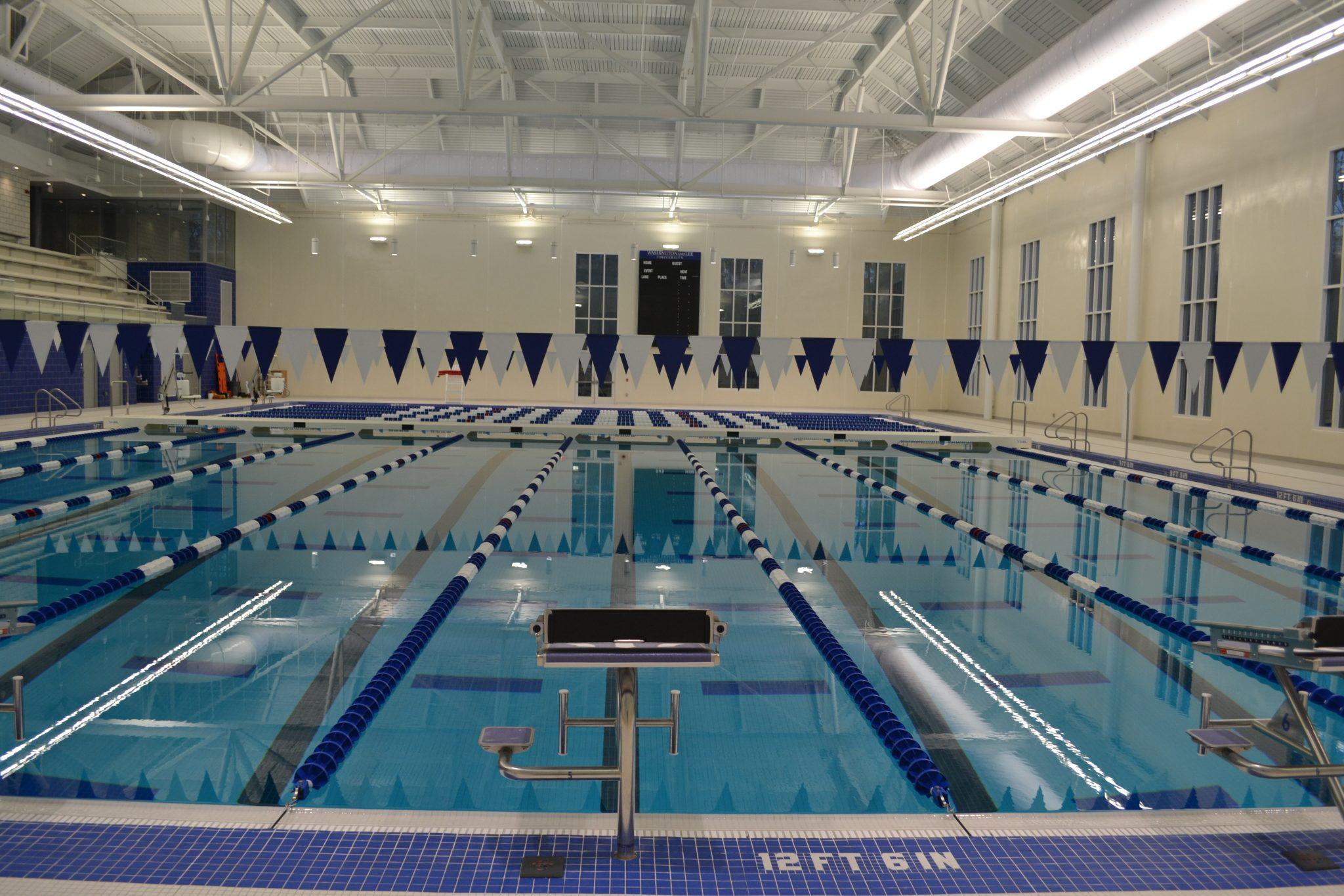 Washington And Lee University Main Line Commercial Pools