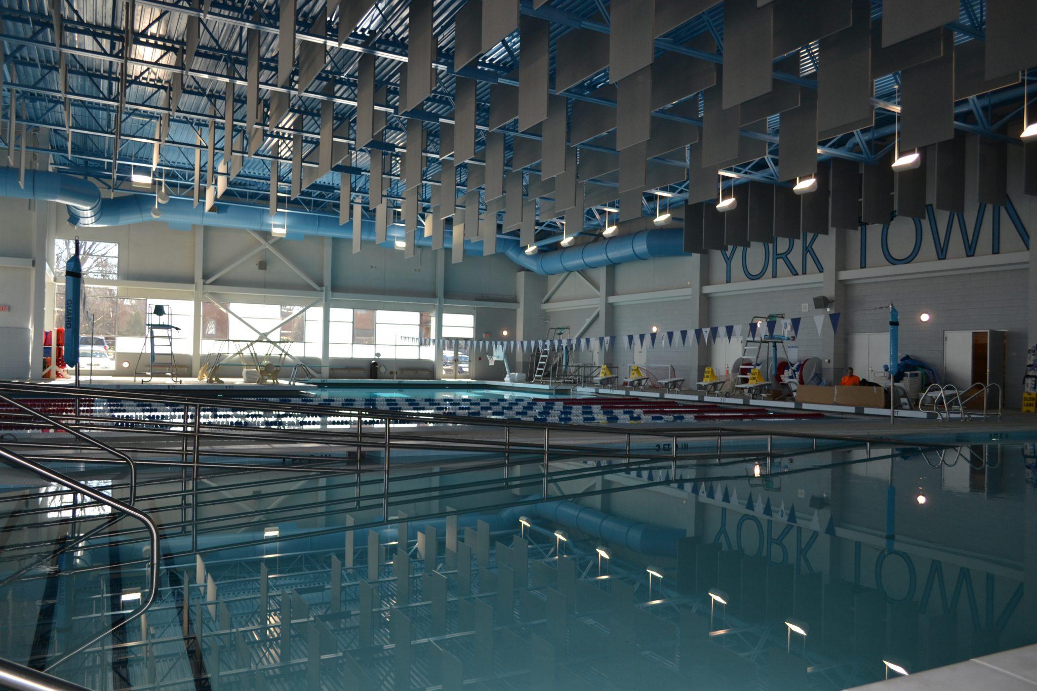 Yorktown High School Main Line Commercial Pools